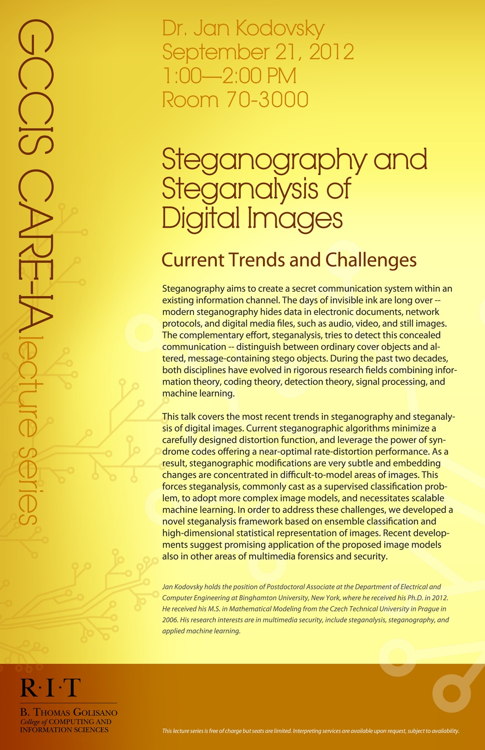 thesis on image steganography Data hiding in digital images : a steganographic paradigm a thesis submitted in partial fulfillment of  this is to certify that the thesis titled data hiding in digital images : a steganographic paradigm submitted by piyush goel, roll no 03cs3003, to the department of computer  steganography is the art of hiding information.